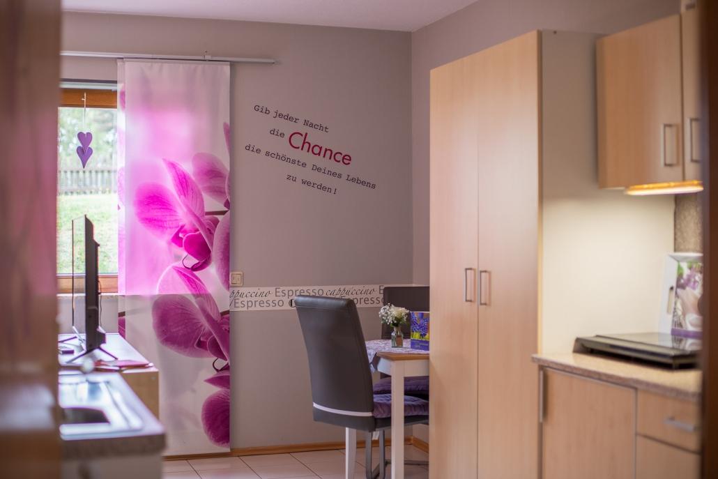 """Komplett eingerichtete Küchenzeile - Appartement """"Haus Bärbel"""""""