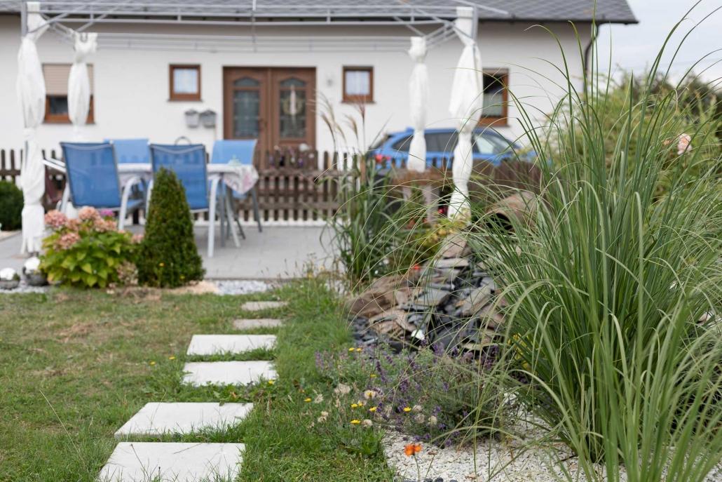 """Überdachte Terrasse mit Pavillon - Appartement """"Haus Bärbel"""""""